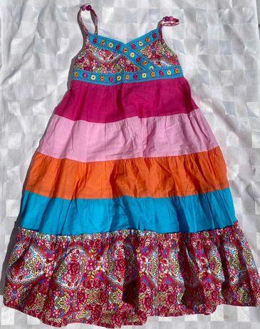 Vestido lindo , colorido, em algodão e extremamente lindo 5/6 ANOS