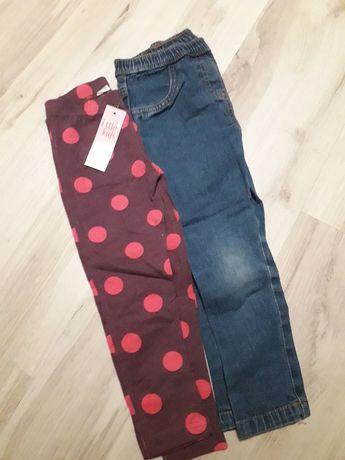 Spodnie zestaw 98
