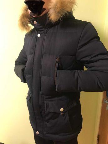 Чоловіча куртка пуховик