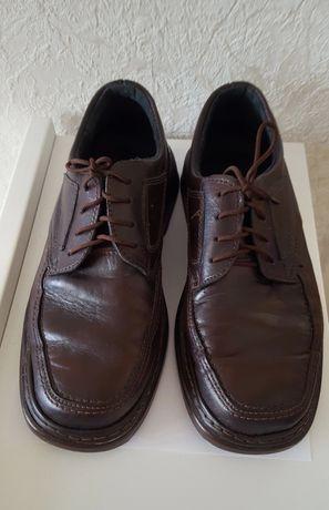 Skórzane buty męskie r 41