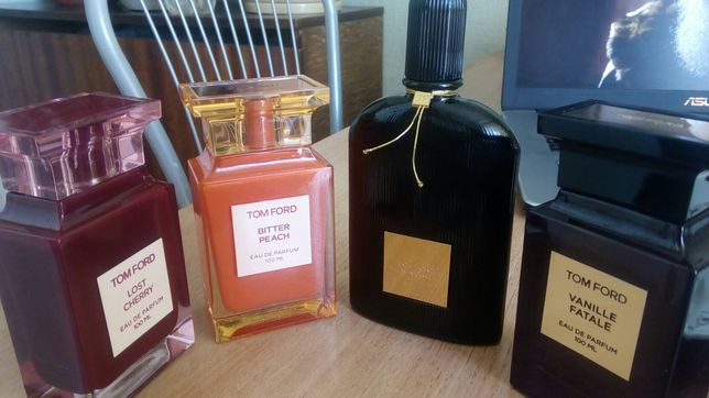 TОM FORD Bitter Peach, Vanille Fatale, Black Orchid