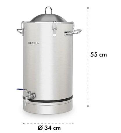 Ємність 25л для ферментації пива та бродіння вина Klarstein