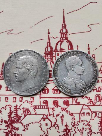 lПродам Две монеты 5 марок Германской империи