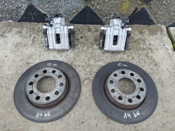 Супорт задній, Тормозний диск Ауді а4 б6 / супорта, Диски Audi a4b6