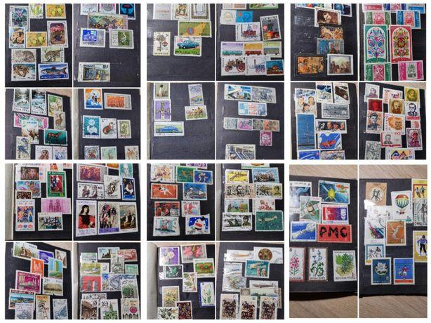 Kolekcja znaczków Polska, Bułgaria Czechosłowacja, Rosja, Europa,