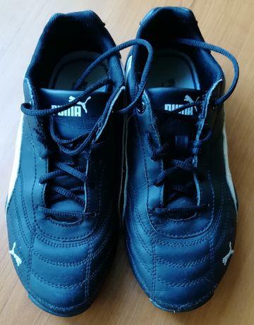Продам детские кожаные кроссовки Puma, размер 34