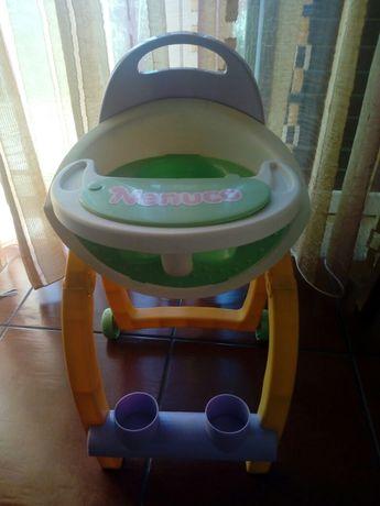 Cadeira de bebê nenuco, carrinho de compras
