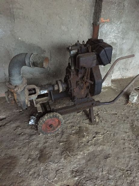 Motor tirar água a gasoleo