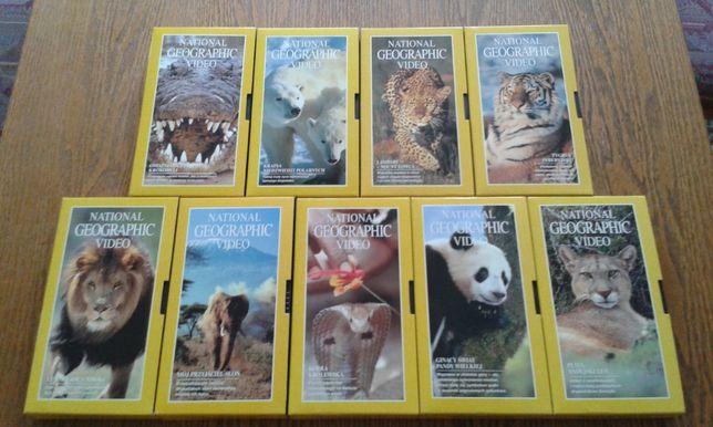 National Geographic Video - 9 kaset VHS