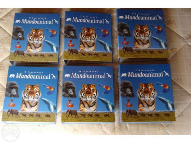 """Coleção """" O Fascinante Mundo Animal"""" completa"""