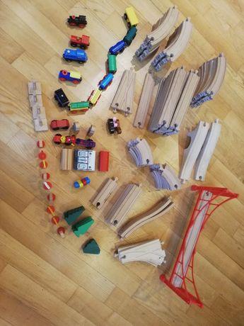 Tory drewniane - duży zestaw