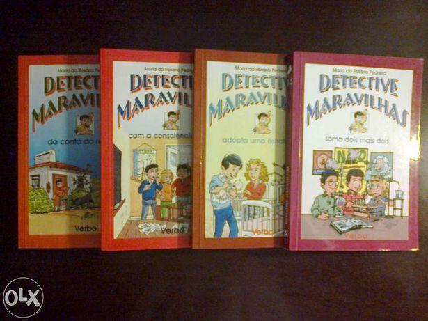 Livros Detective Maravilhas