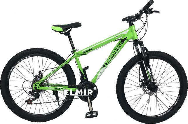 "Велосипед CrossBike Shark Green/Black/White 26"""