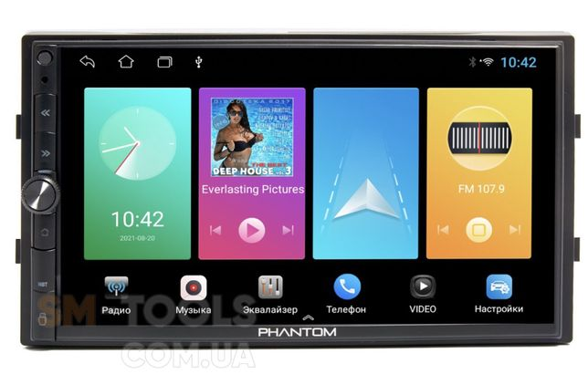 Автомагнитола 2 DIN Phantom DVA-7105 Android