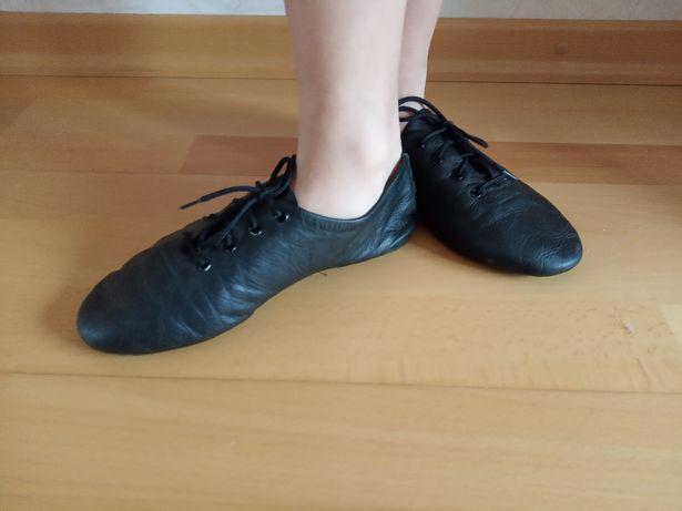 Балетки кожаные для танцев р. 35