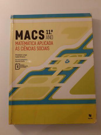 Manual Escolar Macs 11º ano + Caderno de Exercícios