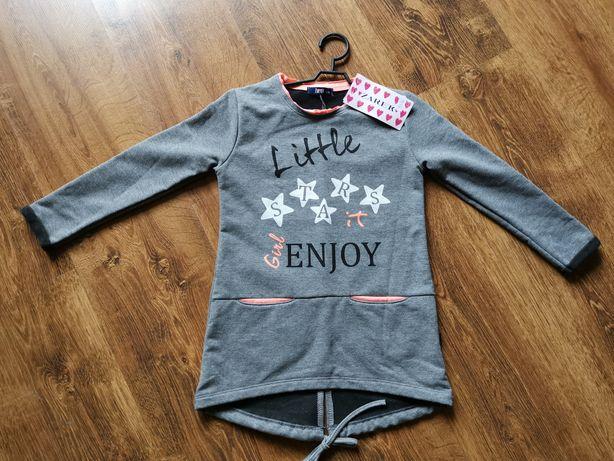 NOWA SUPER bluza tunika Żarek rozmiar 116