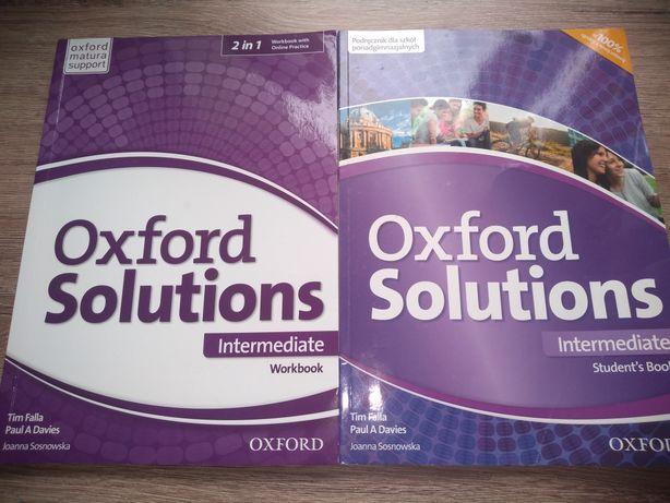 Oxford Solutions Intermediate podręcznik i ćwiczenia