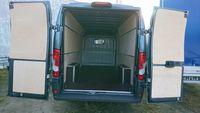 Fiat Ducato L3H2 Zabezpieczenie części ładunkowej