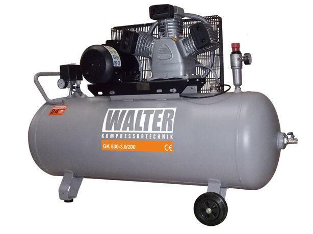 Kompresor tłokowy WALTER GK 530-3,0/200 wysyłka gratis