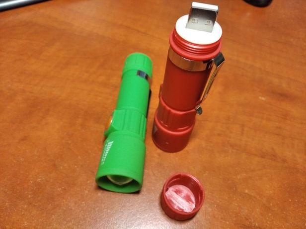 Фонарик аккумуляторный USB