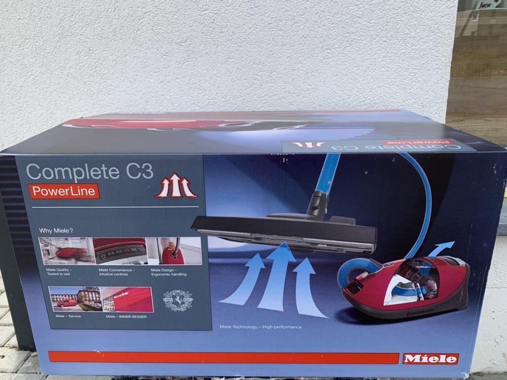 Odkurzacz MIELE C3 COMPLETE 890 watt gwarancja