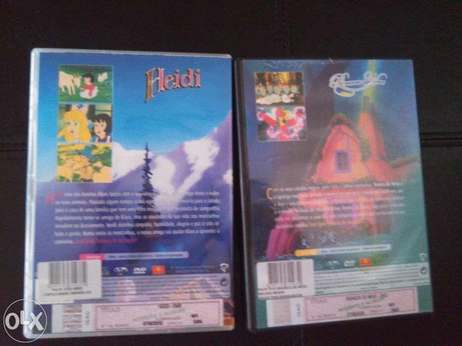 2 DVDs histórias infantis Castelo Branco - imagem 1