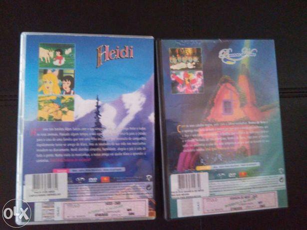2 DVDs histórias infantis