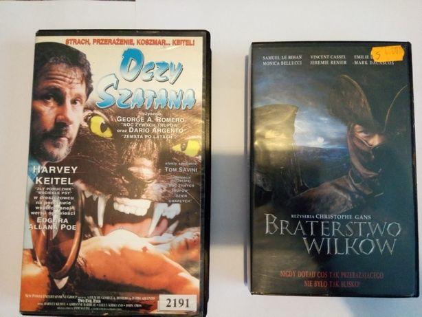 Filmy na kasetach VHS Horrory