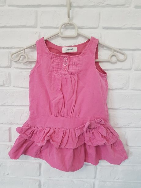 Różowa sukienka 18-24 m 86 cm