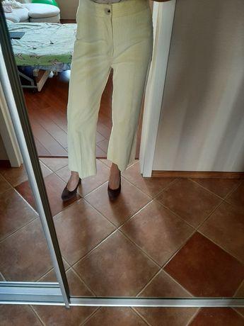 Стильные штаны кюлоты Zara вельветовые