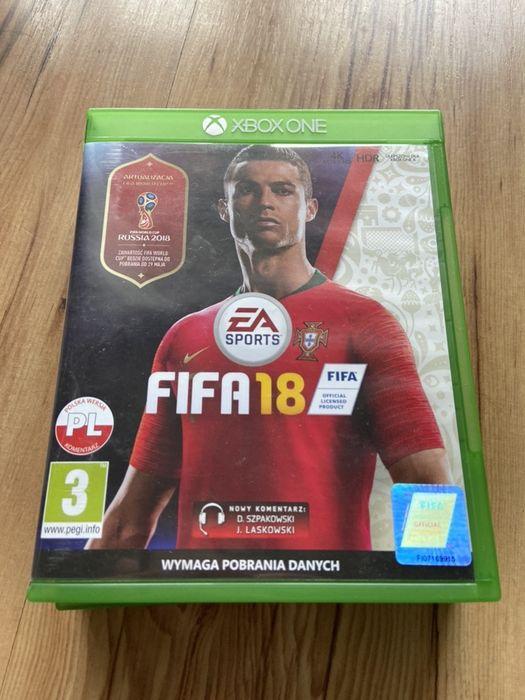 Fifa 18 Xbox One PL jak nowa Jaworze - image 1
