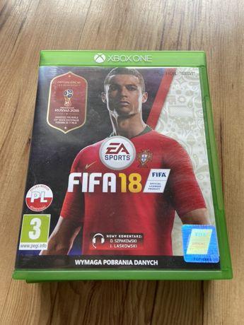 Fifa 18 Xbox One PL jak nowa