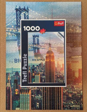 """Puzzle Trefl """"Nowy Jork o świcie"""" 1000"""
