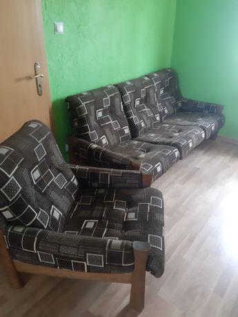 Kanapa fotele i stół