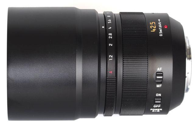 Panasonic Leica Nocticron  42.5mm f/1.2 ASPH DG OIS