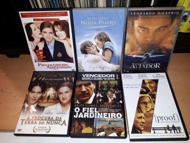 6 filmes em DVD