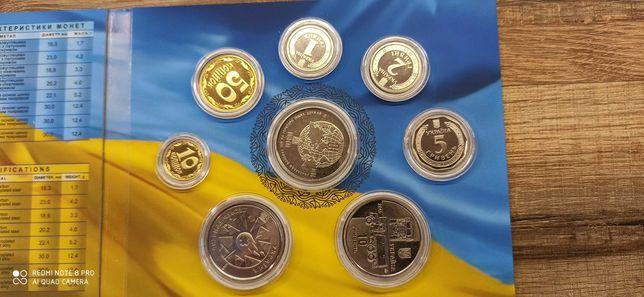 Річний набор обіходних монет 2019