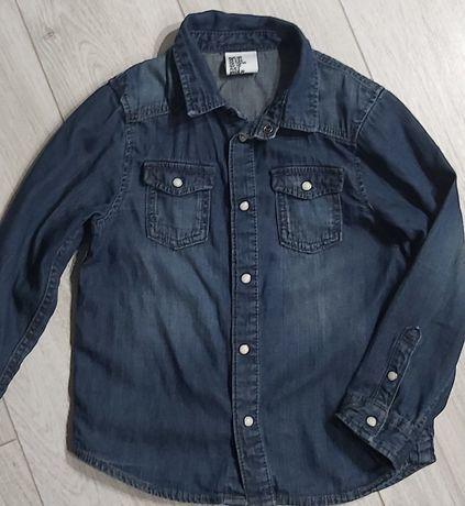 Koszula jeansowa H&M 110