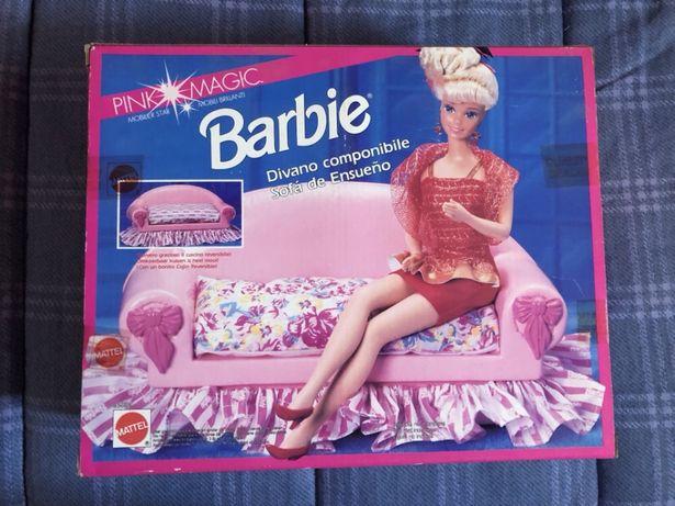 1992 Vintage BARBIE Sofa - Pink Magic (Novo e Selado)