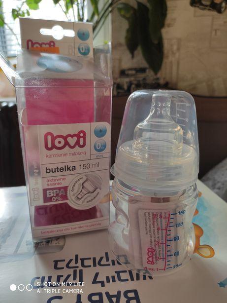 Бутылочка 150 мл Lovi пластик