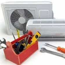 Manutenção e desinfecção de ar condicionado