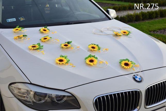 Dekoracje na auto-sztuczne piękne słoneczniki-ozdoby na auto-stroiki