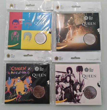 Moeda Coleção Queen - Lendas da música