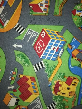 Wykładzina dywan uliczki