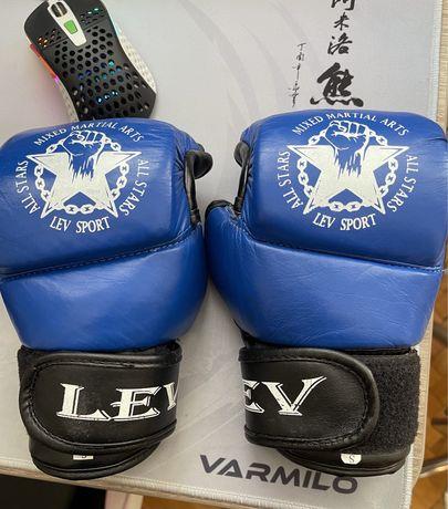 Перчатки для ММА М1 Lev синие