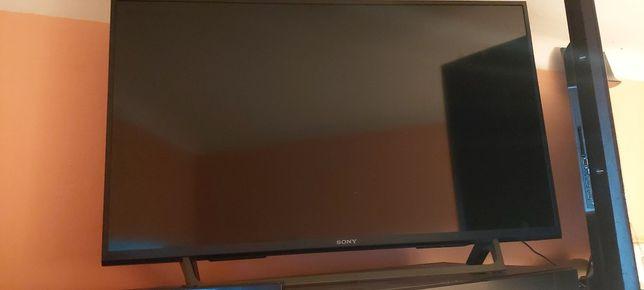 Sony 40 Cali smart tv gwarancja dodatkowa wykupiona 3 letnia