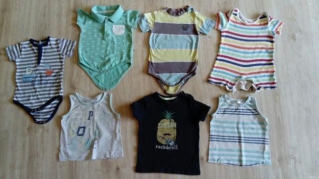 Body, koszulki na krótki rękaw, zestaw rozm. 86 COCCODRILLO, Cool Club