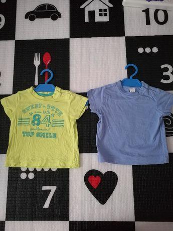 Ubranka dla chłopca, paka dla chłopaka, rozmiar 68 koszulki