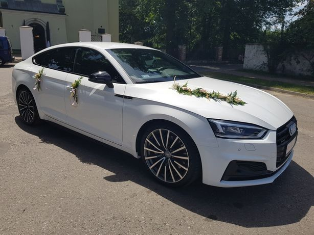 Nowe AUDI A5 do ślubu r. 2019 oraz BMW X4 r. 2019